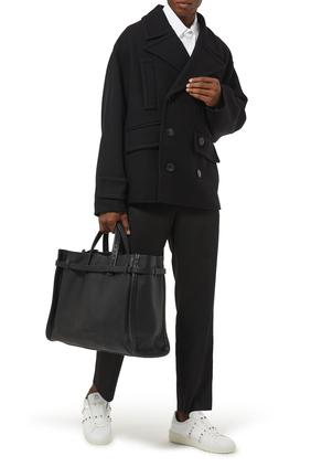 حقيبة يد بشعار الماركة فالنتينو غارافاني