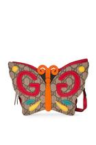 حقيبة يد بتصميم فراشة بشعار حرفي GG
