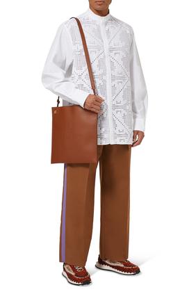 حقيبة مسنجر بشعار الماركة
