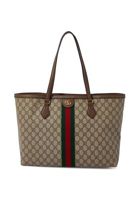 حقيبة يد أوفيديا متوسطة الحجم بشعار حرفي GG