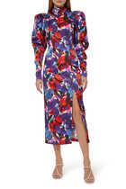 فستان تيريزا بنقشة زهور
