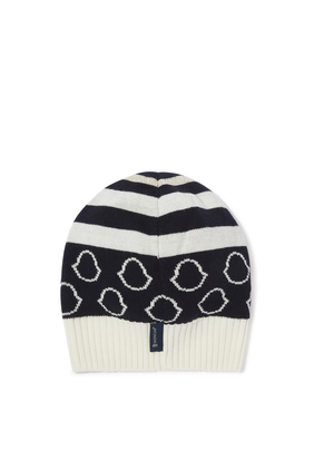JB HAT W LOGOS ALL OVER:Navy:M