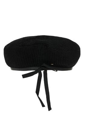 قبعة بيريه كروشيه بشعار GG
