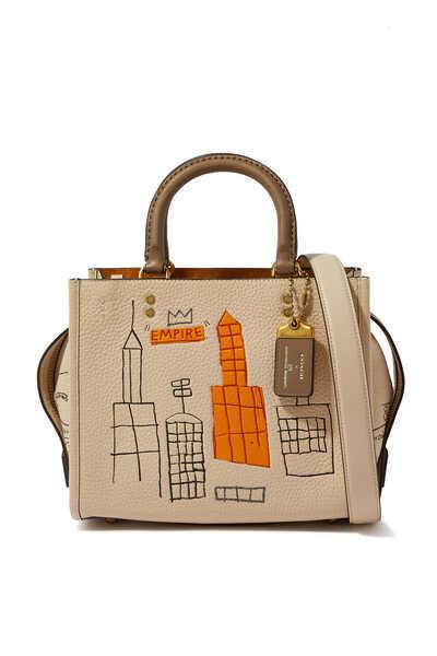 حقيبة روج برسوم للفنان باسكيات