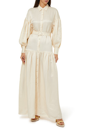 فستان بيلا حرير