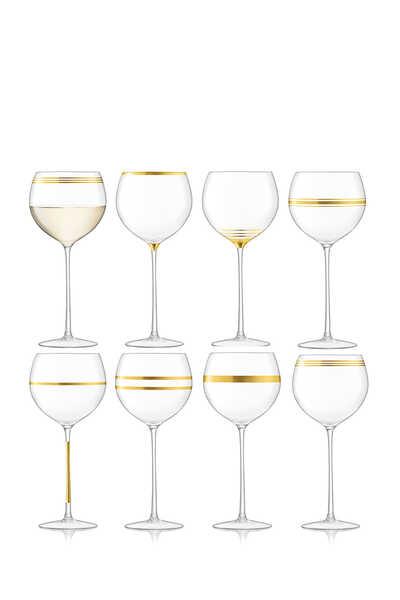 كأس بتصميم عريض وساق طويلة