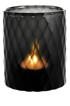 حامل شمعة مورتون زجاج ياقوتي صغير