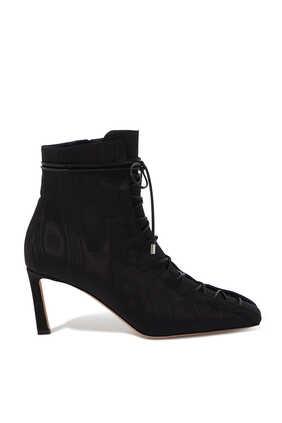 حذاء بوت أرجو قماش مموج