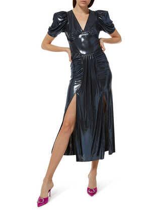 فستان ألما لامع