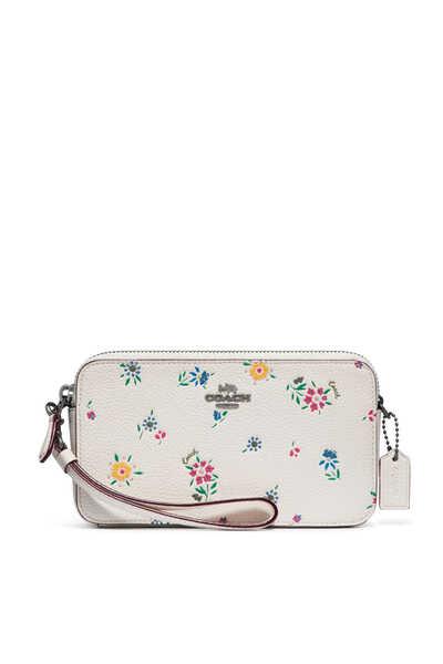 حقيبة كروس كيرا بنقشة زهور برية