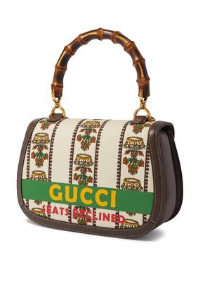 حقيبة متوسطة بيد بامبو من مجموعة Gucci 100