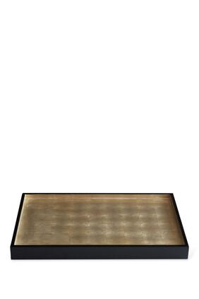 صينية وندسور متوسطة الحجم من رقائق الفضة