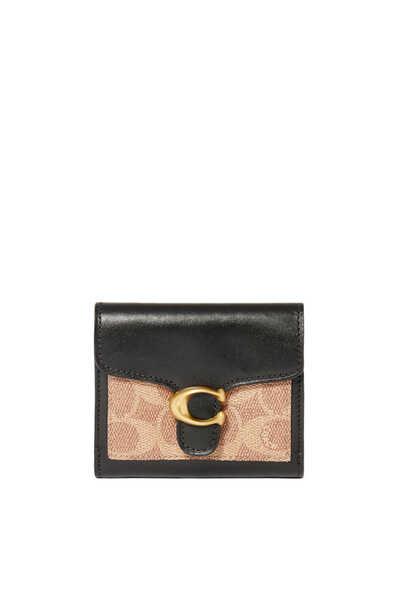 محفظة صغيرة تابي قنب بشعار الماركة