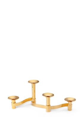 AE Candleholder S/4 Centerpiece Evelina:Gold :One Size