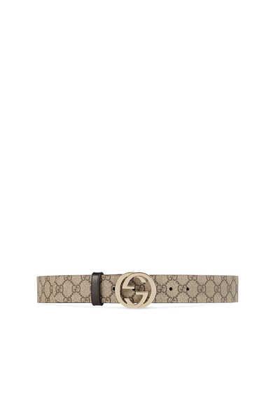 حزام سوبريم بإبزيم على شكل حرفي G