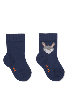 جوارب بطبعة ثعلب وأرنب
