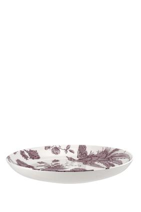 وعاء معكرونة كينجسلي بلون أبيض