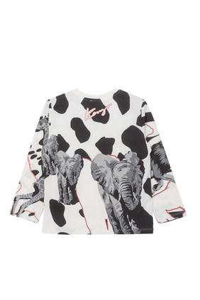 قميص بطبعة فهد