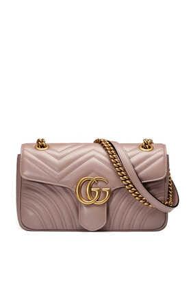 حقيبة مارمونت مبطنة بشعار GG