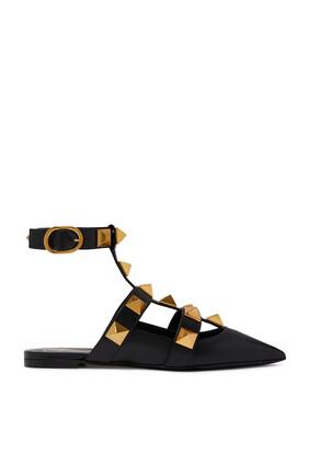 حذاء باليرينا فالنتينو غارافاني رومان بحلي هرمية