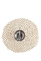 مفرش أطباق مستدير من الفينيل على شكل زهرة الأضاليا