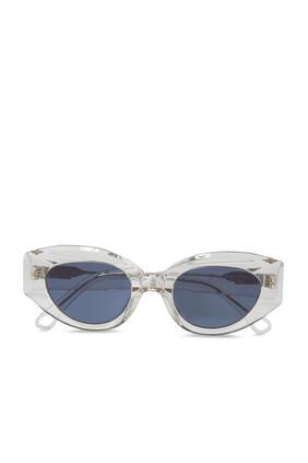 نظارة شمسية سيليست بلون فضي