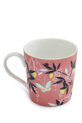 كوب سارة ميلر لندن بورتميريون بنقشة زهور أوركيد