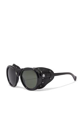 نظارة شمسية بأجزاء جانبية للحماية