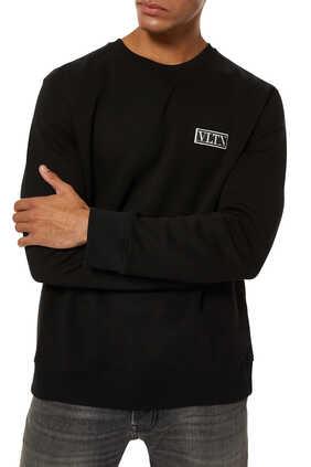 سترة مزينة برقعة شعار VLTN