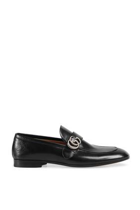 حذاء سهل الارتداء بشعار بحرفي GG