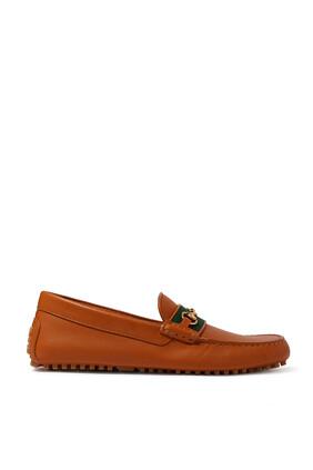 حذاء درايفر سهل الارتداء جلد