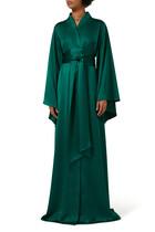 فستان سهرة بدرابيه ستان