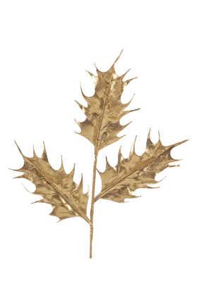 زينة بتصميم ساق كبيرة بأوراق نبات البهشية لشجرة الكريسماس