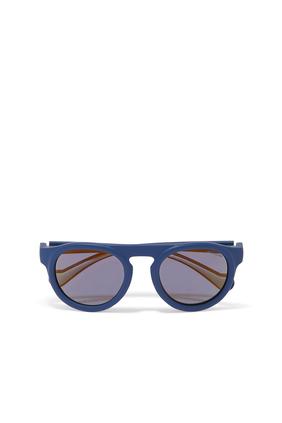 نظارة شمسية بتصميم محقون