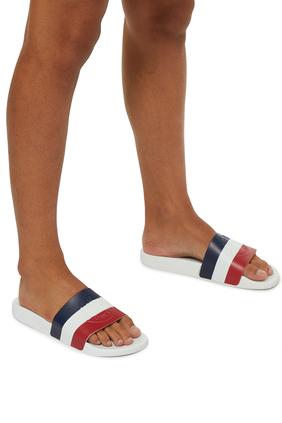 حذاء مفتوح باسيل بسير ثلاثي الألوان