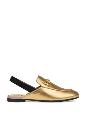حذاء برينستاون سهل الارتداء جلد لامع