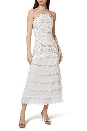 فستان والتز دانتيل