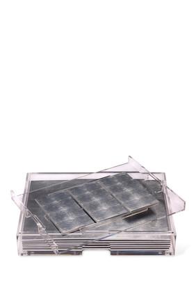طقم أدوات مائدة غراند مات بوكس من رقائق الفضة
