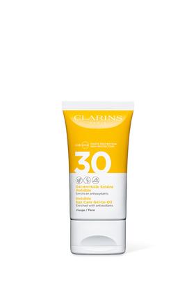 كريم جل تو أويل شفاف للحماية من أشعة الشمس فوق البنفسجية الطويلة والمتوسطة 30