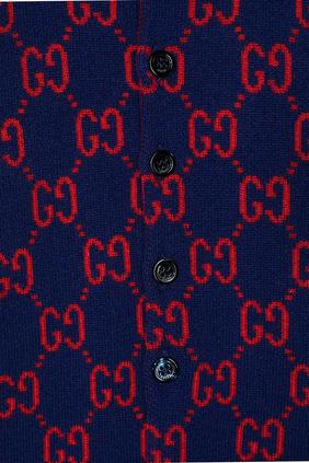 بيجاما قطعة واحدة صوف بشعار GG بتصميم إنتارسيا