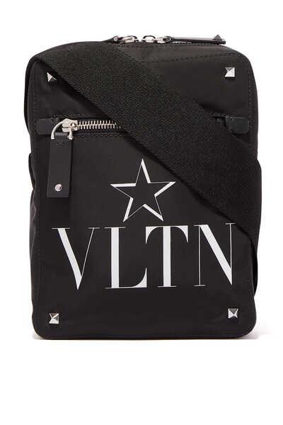 حقيبة مسنجر فالنتينو غارافاني بطبعة VLTN ونجمة