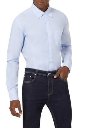 قميص قطن بأكمام طويلة