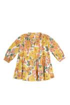 فستان بوبي بطبقات متعددة