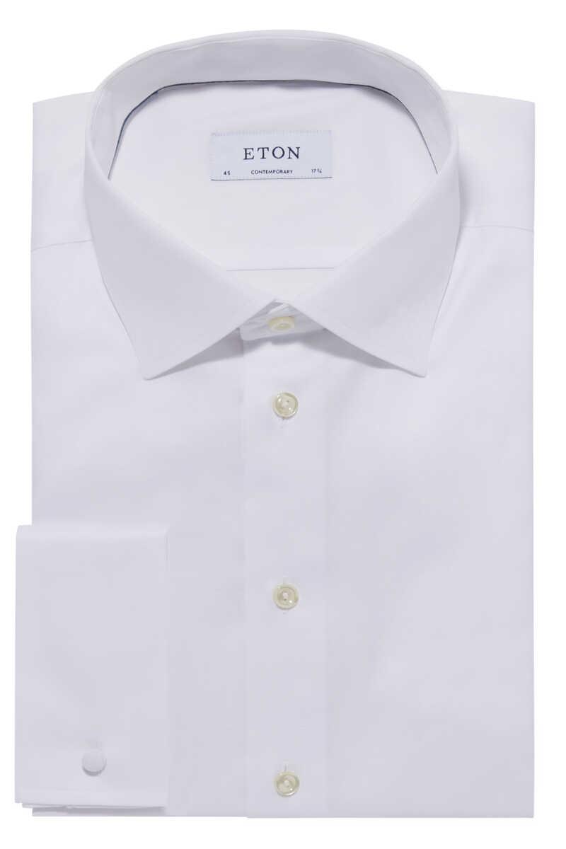 قميص بوبلين image number 1