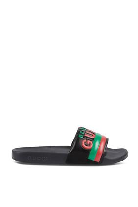 حذاء مفتوح أسود