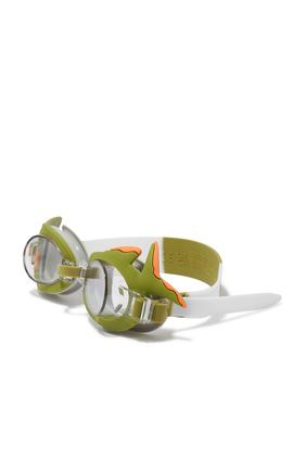 نظارة للسباحة بتصميم قرش صغير