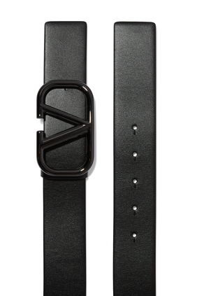 حزام فالنتينو غارافاني جلد بشعار V