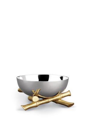 وعاء بتصميم بامبو صغير