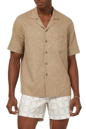 قميص فورمال بياقة كوبية