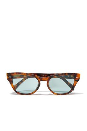 نظارة شمسية اف اف شفافة
